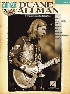 Duane Allman: Guitar Play-Along Volume 104 image