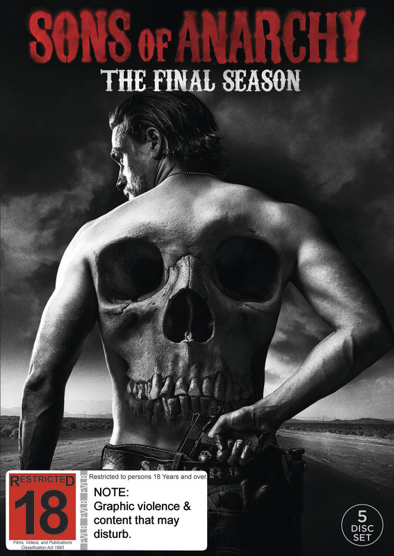Sons Of Anarchy Season 7 Dvd Buy Now At Mighty Ape Nz
