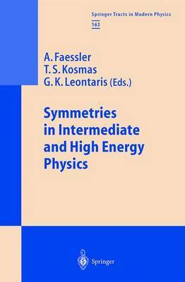 Symmetries in Intermediate and High Energy Physics image