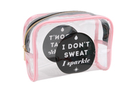 Gym & Tonic Wash Bag - Pink image