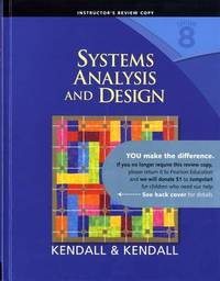 Systems Analysis and Design by Kenneth E. Kendall image