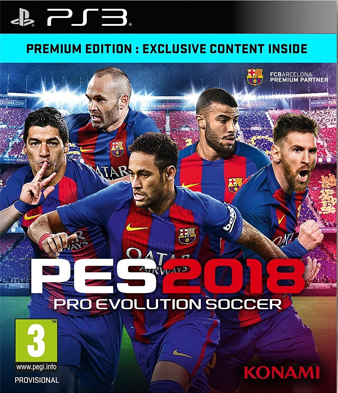 Pro Evolution Soccer 2018 Premium Edition for PS3 image