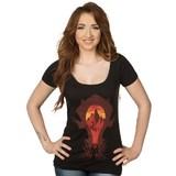 World of Warcraft Horde Silhouette Women's Scoop Tee (X-Large)