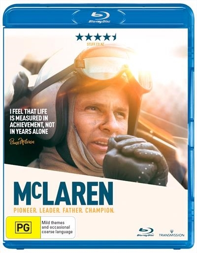 McLaren on Blu-ray image