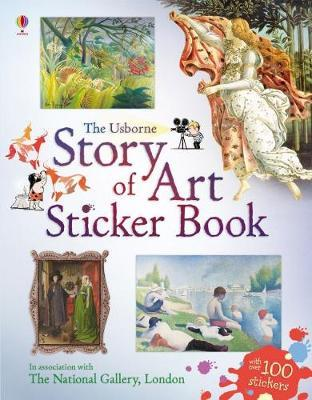 Story of Art Sticker Book by Sarah Courtauld