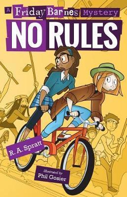 No Rules: A Friday Barnes Mystery by R.A. Spratt image