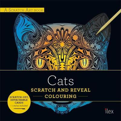CATS: Scratch and Reveal Colouring image
