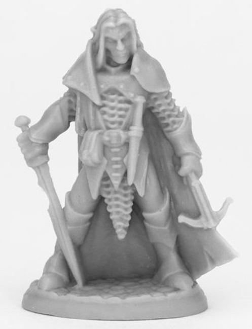 Dark Heaven: Bones Black - Dark Elf Male Warrior