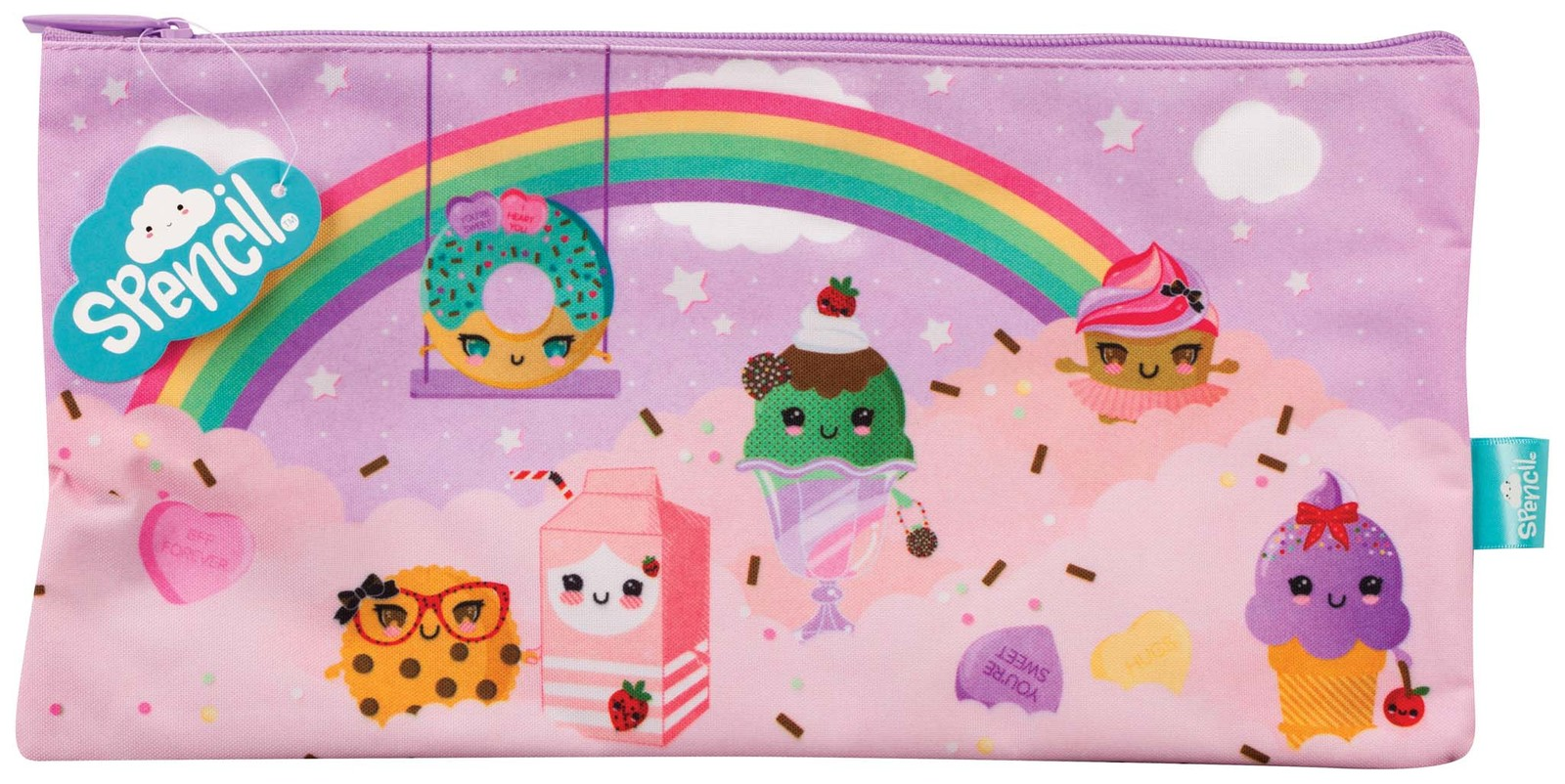 Spencil: Everyday is Sundae - Rectangle Pencil Case image