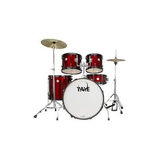 Taye GAD522S Galactic Audition 5pc Drum Kit with Cymbal (Red)
