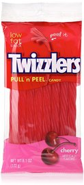 "Twizzlers: Pull ""N' Peel Cherry Candy - 172g"