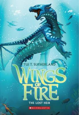 Wings of Fire #2: The Lost Heir by Tui,T Sutherland