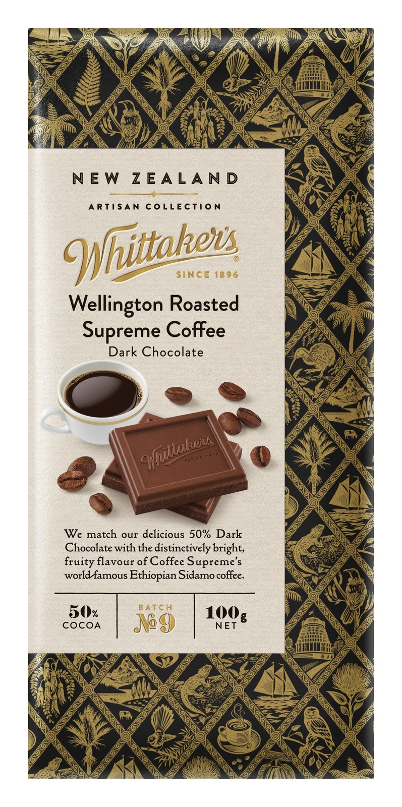 Whittaker's: Artisan Collection - Wellington Roasted Supreme Coffee (100g) image