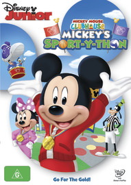 Mickey Mouse Clubhouse - Mickey's Sport-y-thon DVD