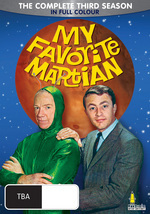 My Favourite Martian (1963) - Complete Season 3 (6 Disc Box Set) on DVD