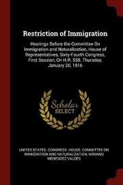 Restriction of Immigration image