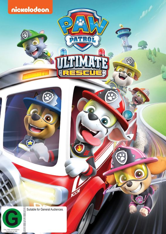 Paw Patrol: Ultimate Rescues on DVD