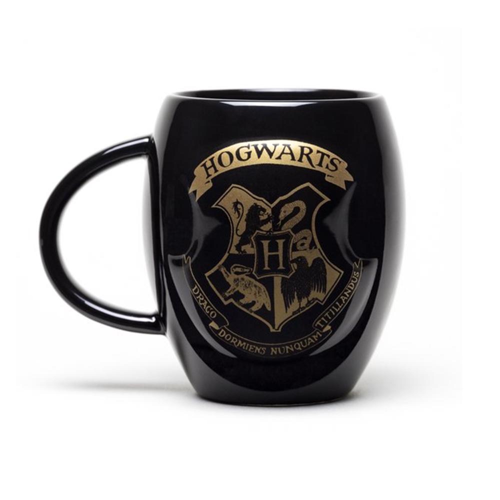 Harry Potter Hogwarts Crest Oval Mug image