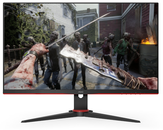 "23.8"" AOC 1920x1080 75Hz 1ms Adaptive Sync Gaming Monitor"
