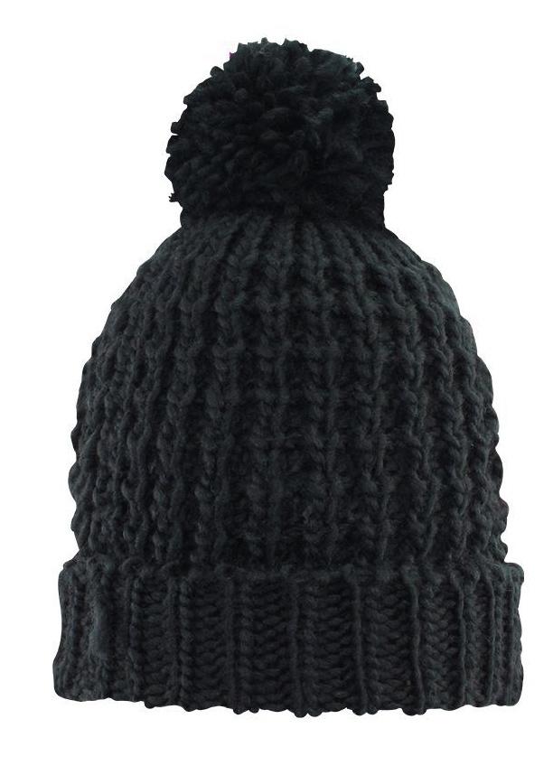 Vera Beanie - Black image