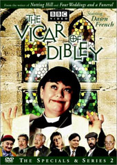 Vicar Of Dibley - The Complete Second Series on DVD