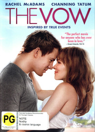 The Vow on DVD