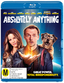 Absolutely Anything on Blu-ray
