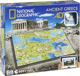 National Geographic: Ancient Greece 4D Puzzle (600pc)