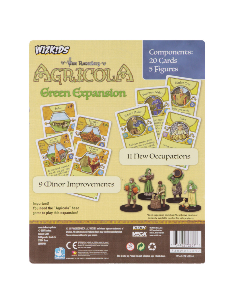 Agricola: Game Piece Expansion - Green image
