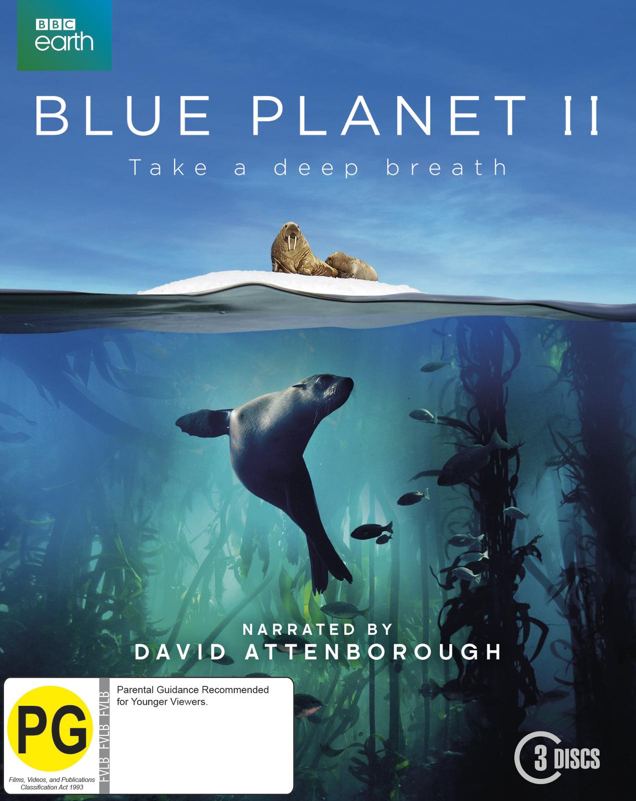 Blue Planet II on Blu-ray image
