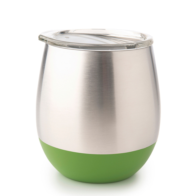 Stainless Steel Insulated Glass - Grass (240ml) image