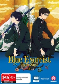 Blue Exorcist: Kyoto Saga - Volume 2 (Episodes 7-12) on DVD