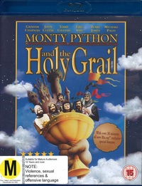 Monty Python And The Holy Grail on Blu-ray
