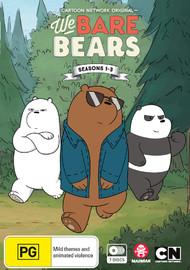 We Bare Bears - Seasons 1- 3 on DVD