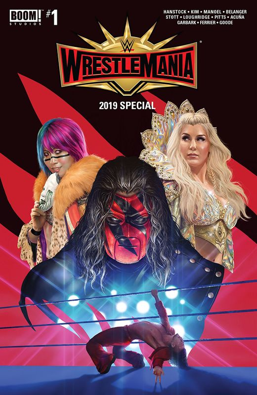 WWE: Wrestlemania - 2019 Special #1 (Cover A) by Bill Hanstock