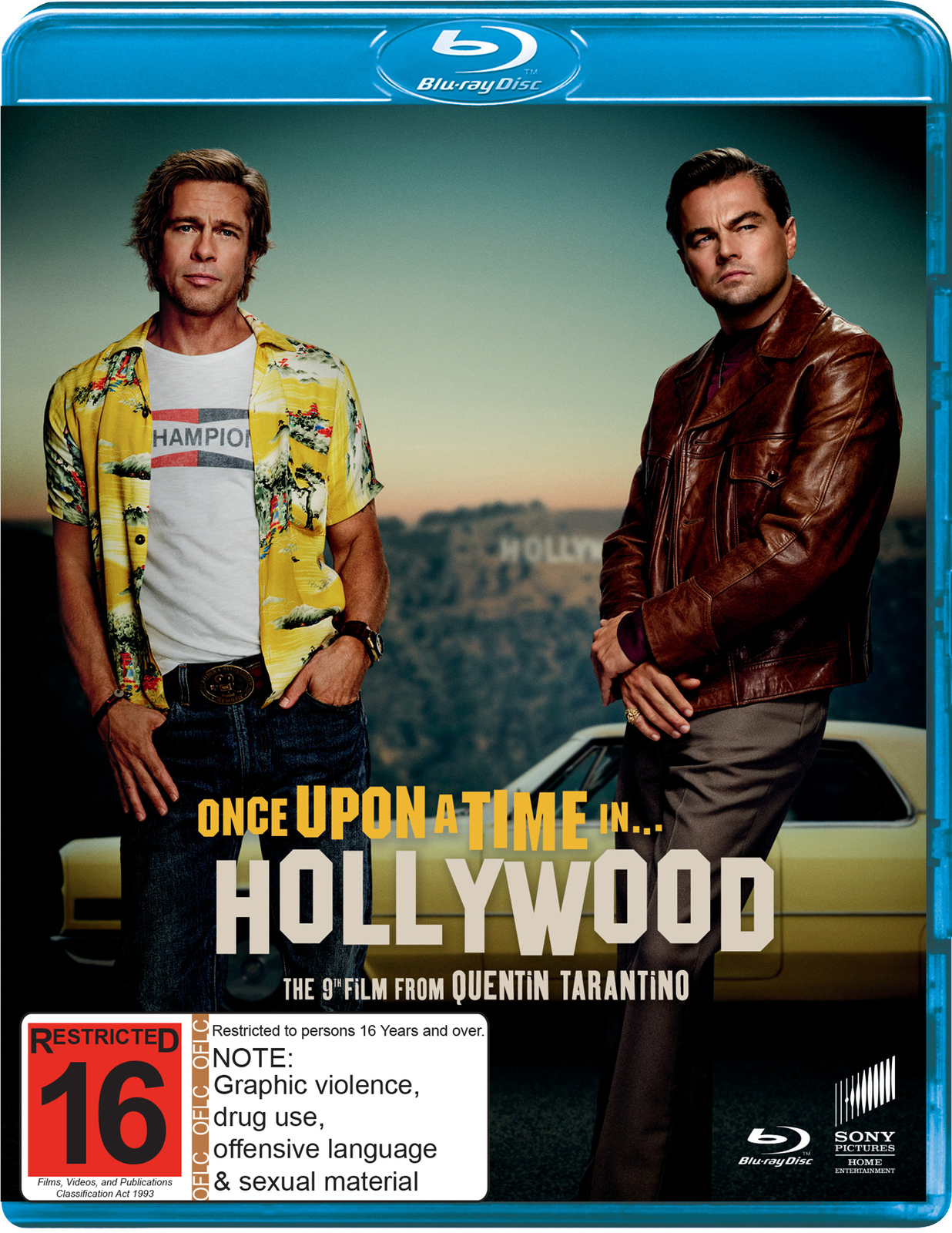 Once Upon a Time in Hollywood on Blu-ray image
