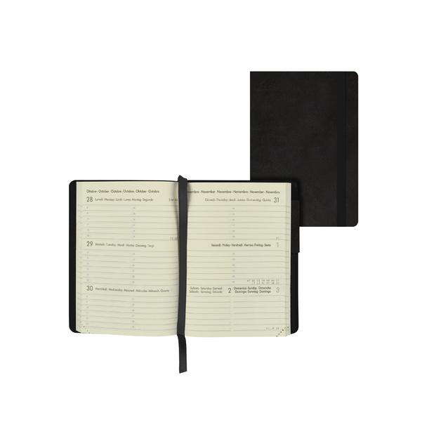 Legami: Mini Weekly 12 Month 2021 Diary - Black (8 x 11cm)