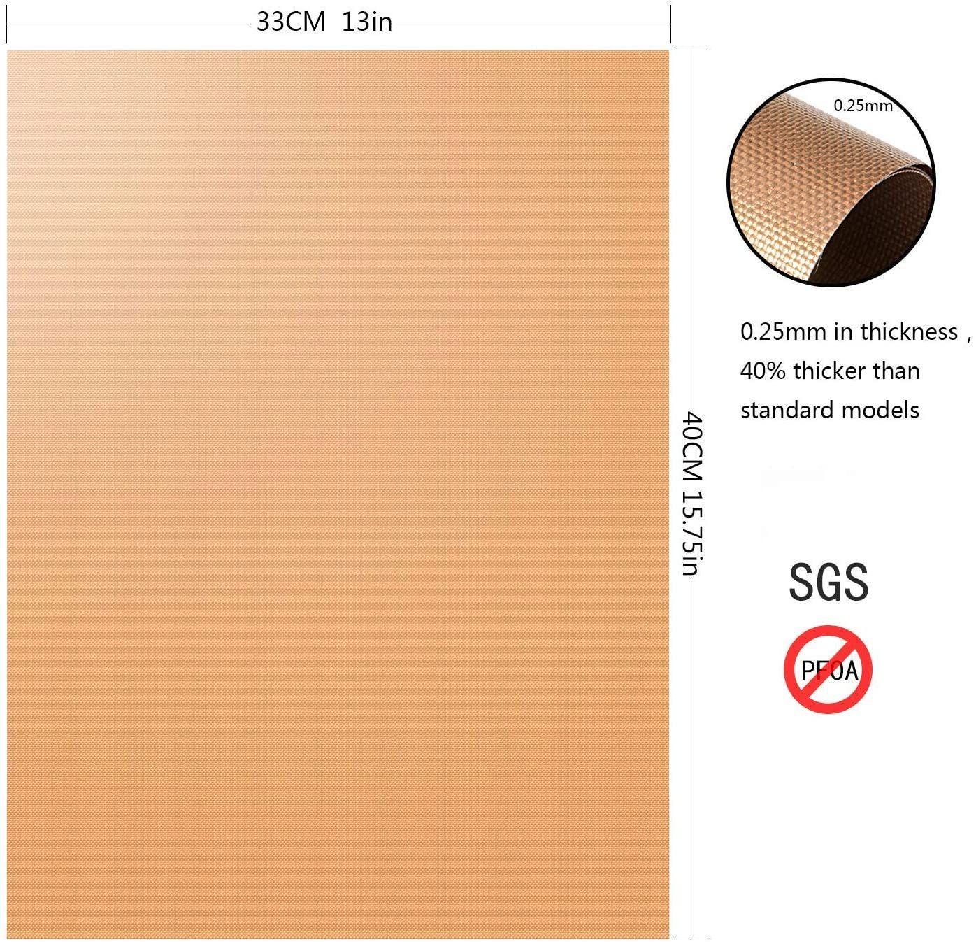Gold Reusable Teflon BBQ Mat image