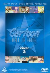 Cartoon Hall of Fame - Vol. 5 on DVD