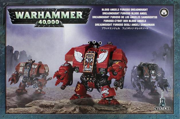 Warhammer 40,000 Blood Angels Furioso Dreadnought