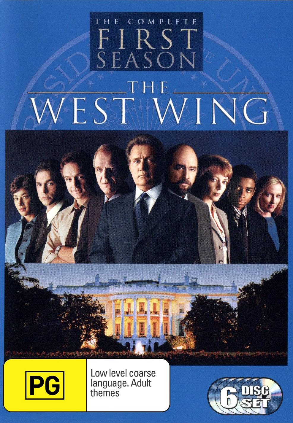 The West Wing - Complete First Season (6 Disc Box Set) on DVD image