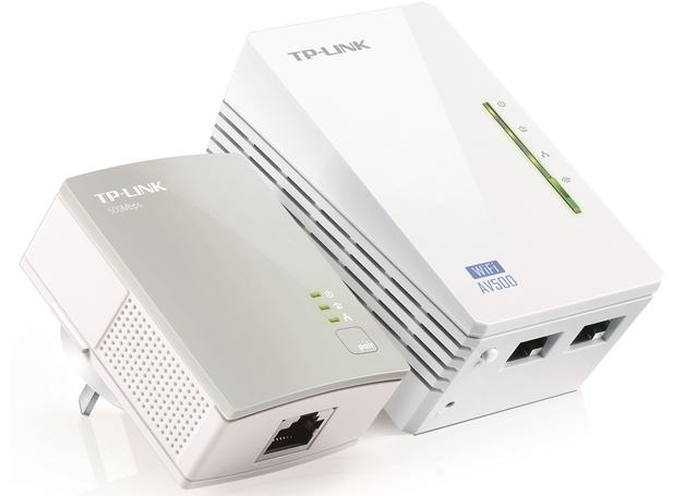 TP-Link AV600 WiFi Powerline Extender Starter Kit