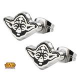 Star Wars Yoda Enamel Stud Earrings