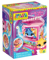 The Orb Factory: Sticky Mosaics - Pretty Kitties Jewellery Box