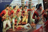 American War of Independence - British Infantry (1775-1783)
