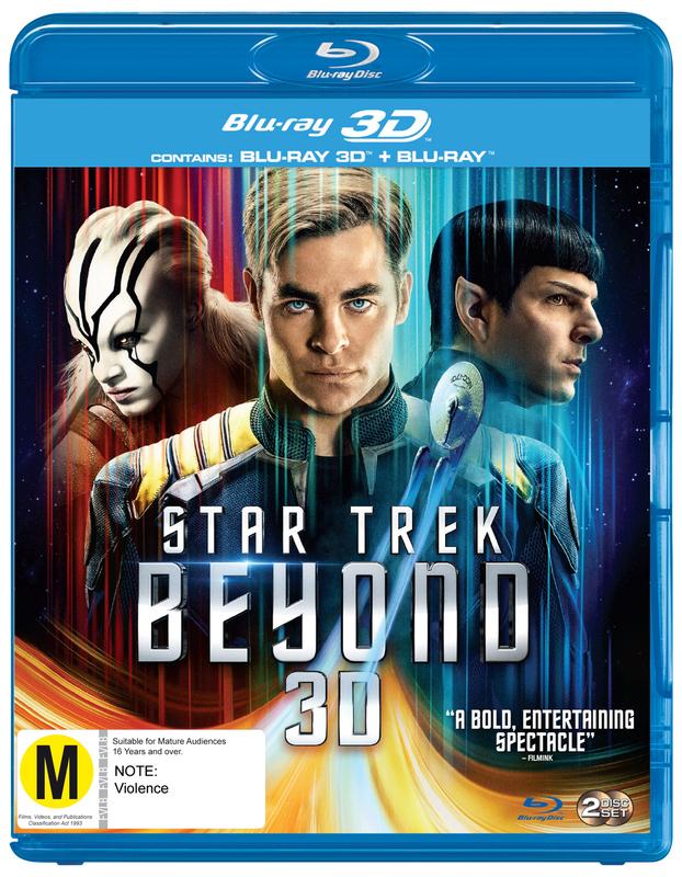 Star Trek Beyond - 3D on Blu-ray, 3D Blu-ray