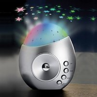 Galaxy Star Projector & Nature Sounds Machine