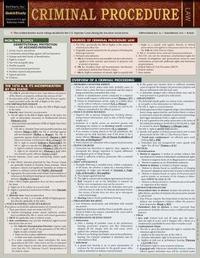 Criminal Procedure by BarCharts Inc
