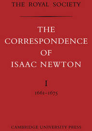 The Correspondence of Isaac Newton Paperback Set by Sir Isaac Newton