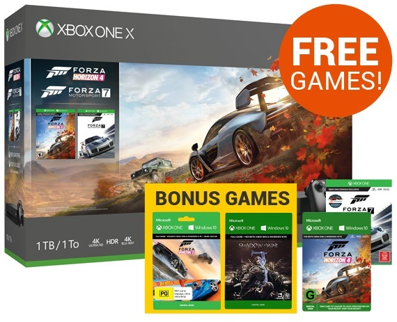 Xbox One X 1TB Forza Horizon 4 Console Bundle for Xbox One